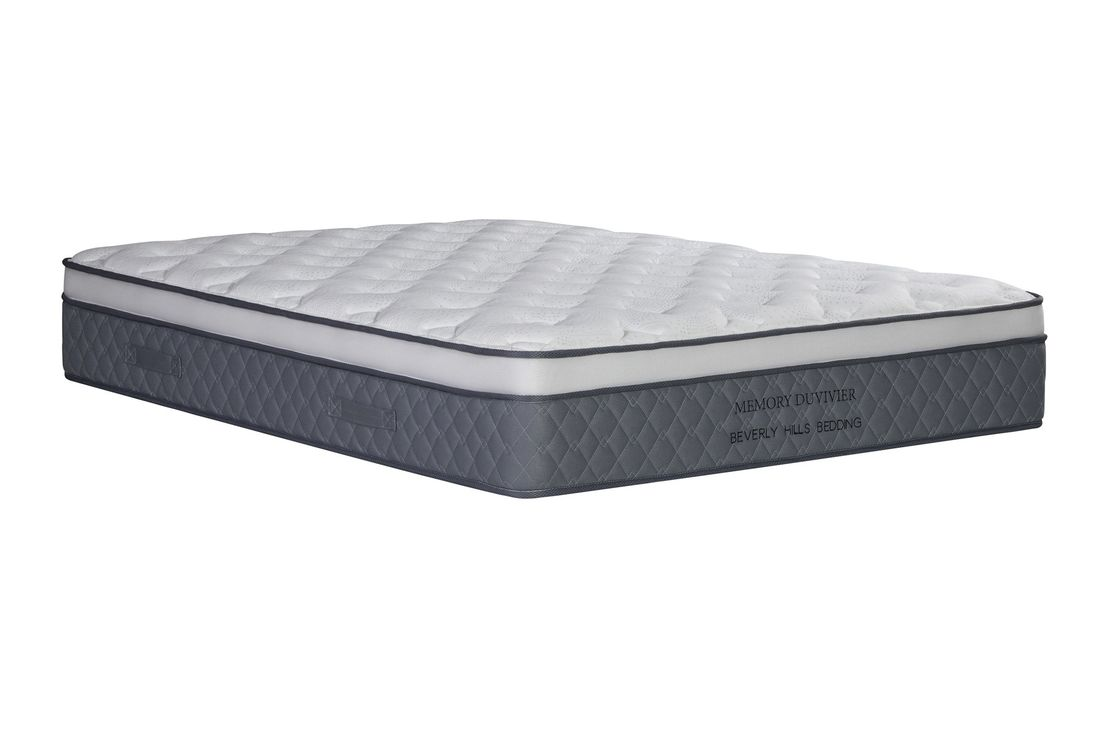 Knitted Pattern Memory Spring Foam Mattress For Healthy Sleep Medium Hardness